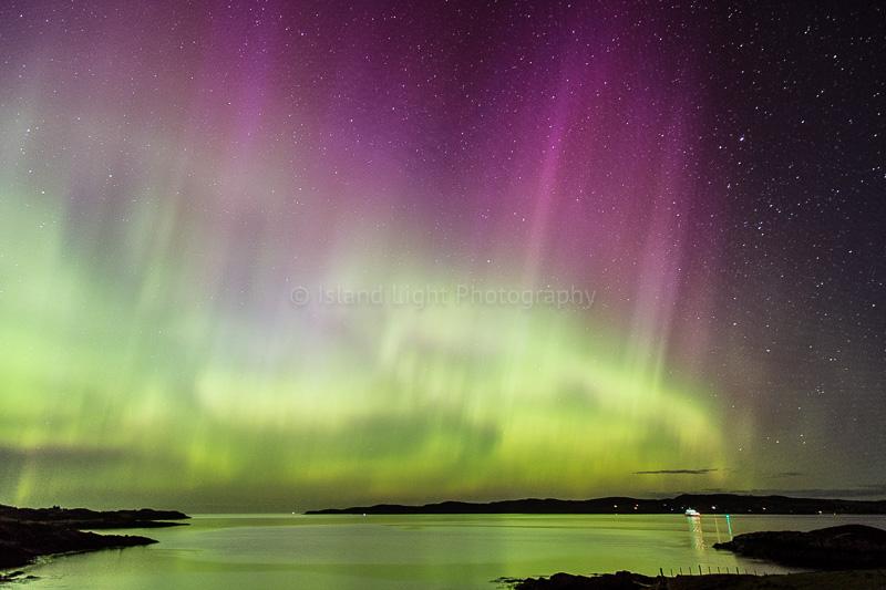 Aurora Loch Ewe Scotland