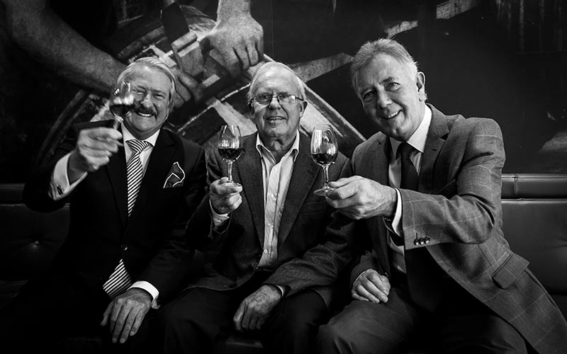 Three Scottish Whisky Legends