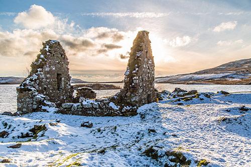 Finlaggan Islay in Winter