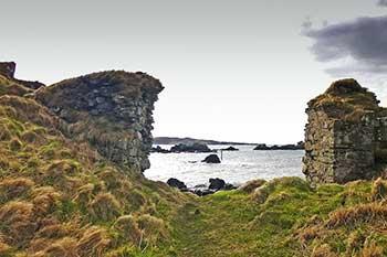Dunyvaig Castle Sea Gates
