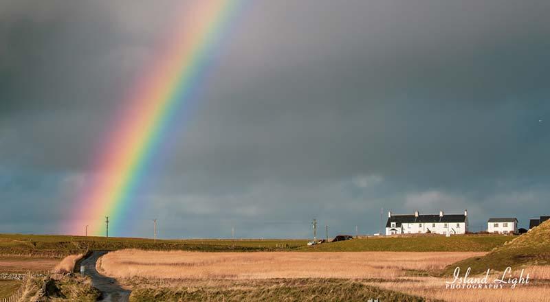 Rainbow Coastguard Cottages Kilchoman Islay