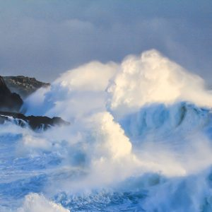 The Face in the Waves Islay Photo