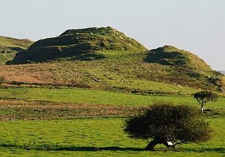 Islay Hill fort Dun Nosebridge