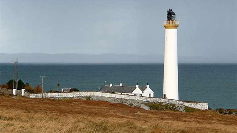 Ruvaal Lighthouse Islay