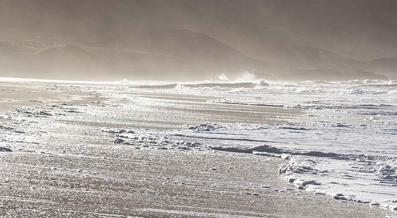 Stormy day at Kilchoman