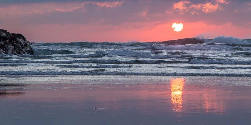 January Sunset at Kilchoman Beach