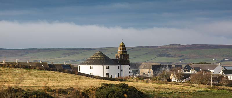 The Round Church seen from Hillside