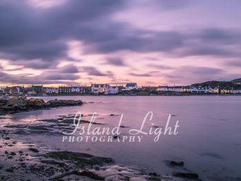 November Evening in Port Ellen