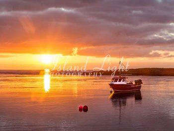 Sunset Portnahaven Pier