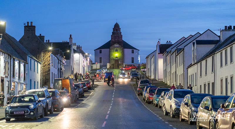 Bowmore in December during the Switch On
