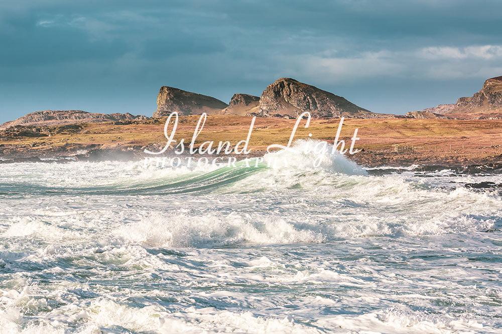 Waves near the Sleeping Giant
