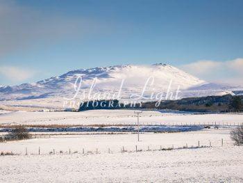 Islay Hills in Winter