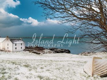 Wintry View Loch Indaal