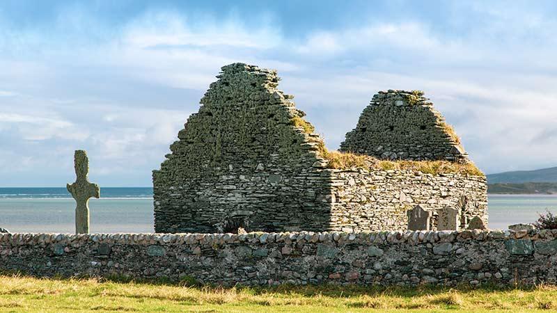 Kilnave Chapel and Cross Islay