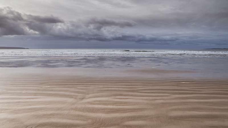 Moody November view of the Big Strand