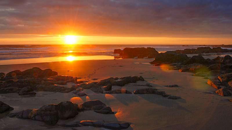 Sunset Saligo Bay Islay