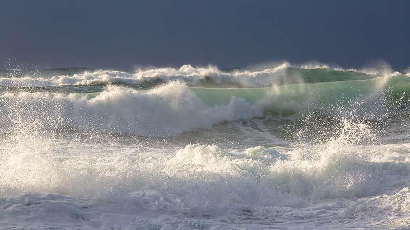 Atlantic Swell at the North End of Saligo Bay Islay